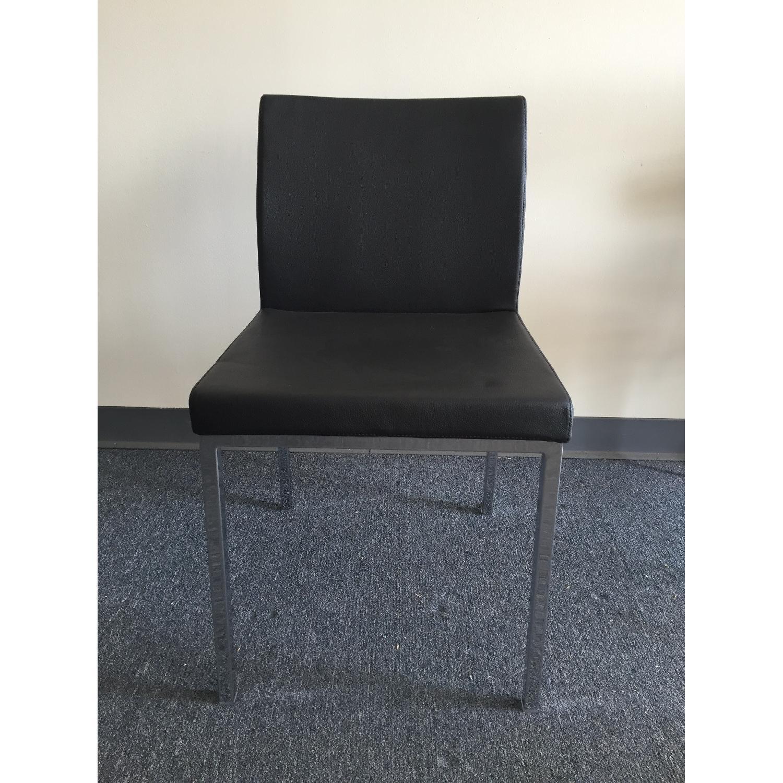 Lazzoni Black Dining Chairs - image-2