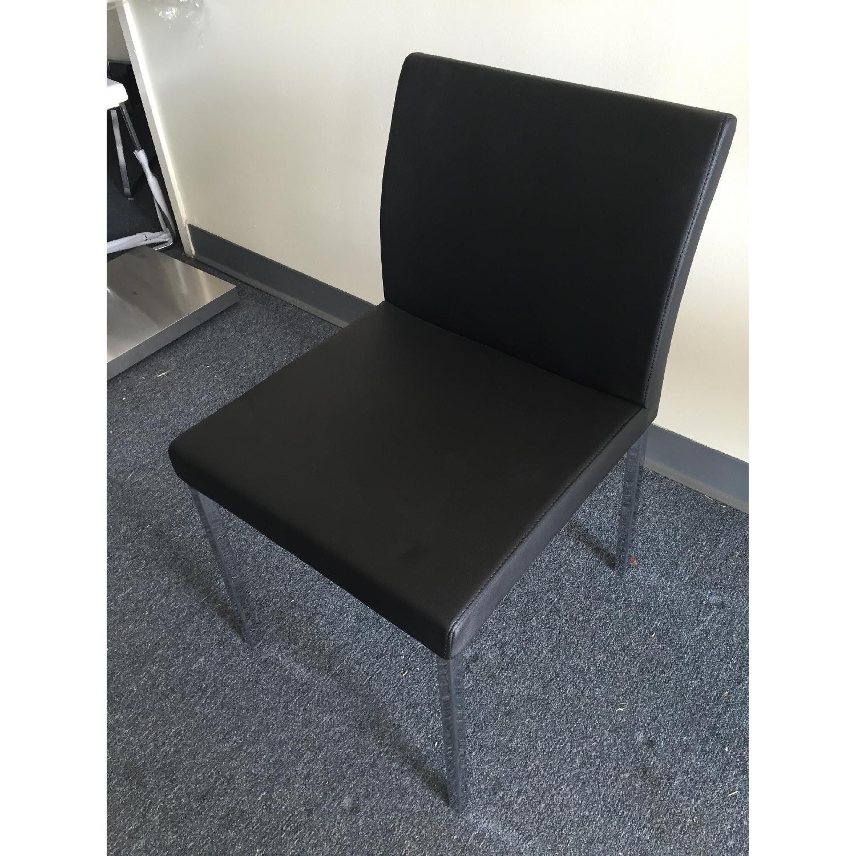 Lazzoni Black Dining Chairs - image-4