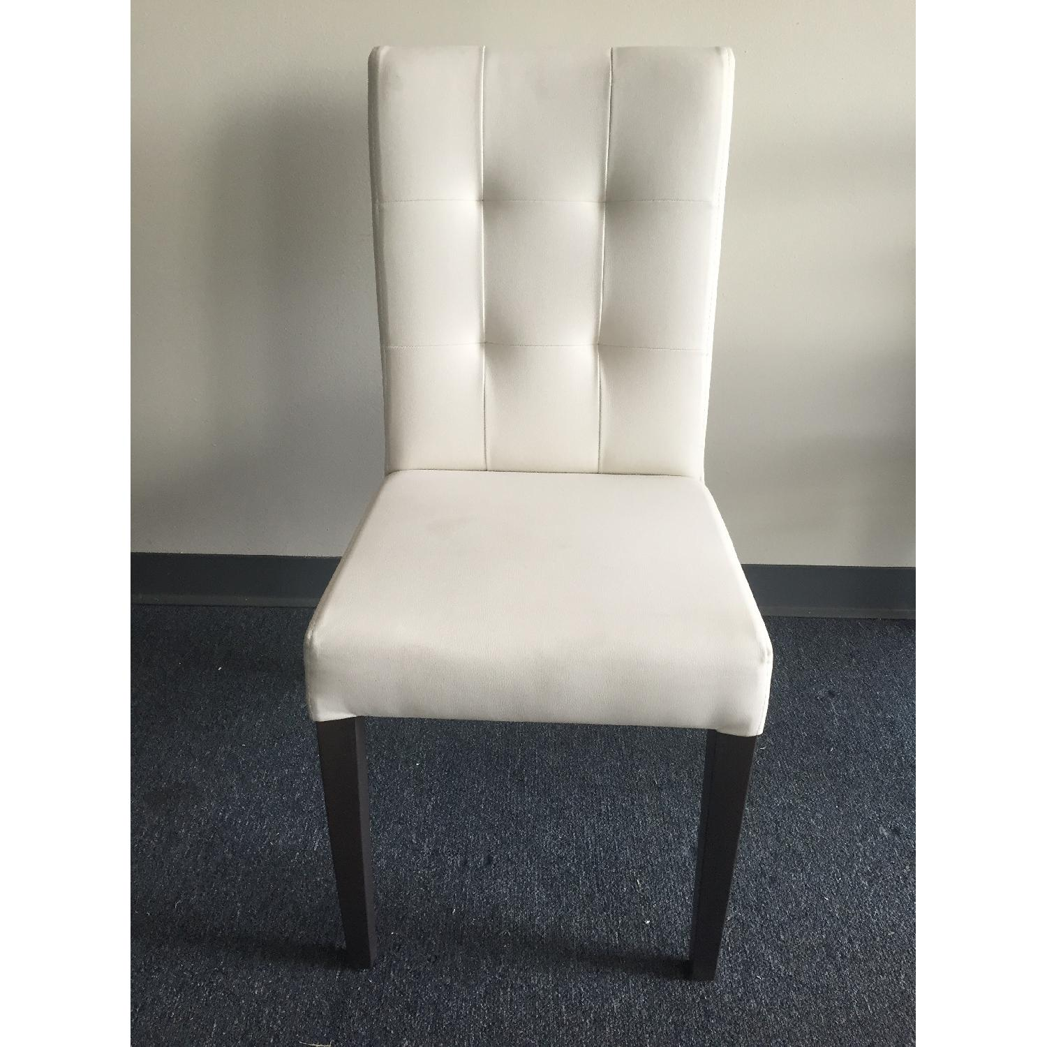 Lazzoni White Dining Chair - image-2