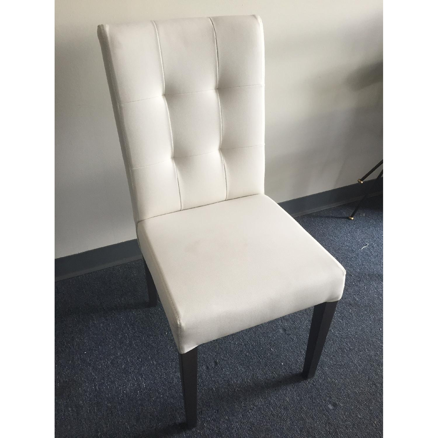 Lazzoni White Dining Chair - image-3