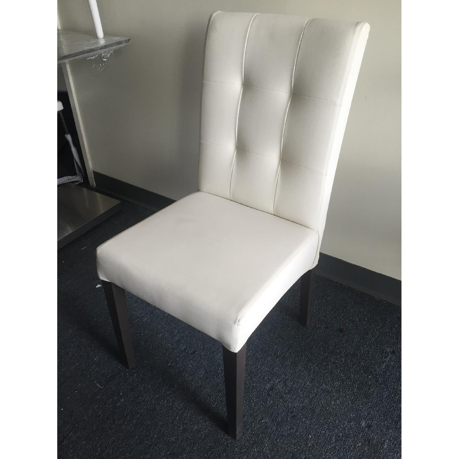 Lazzoni White Dining Chair - image-4