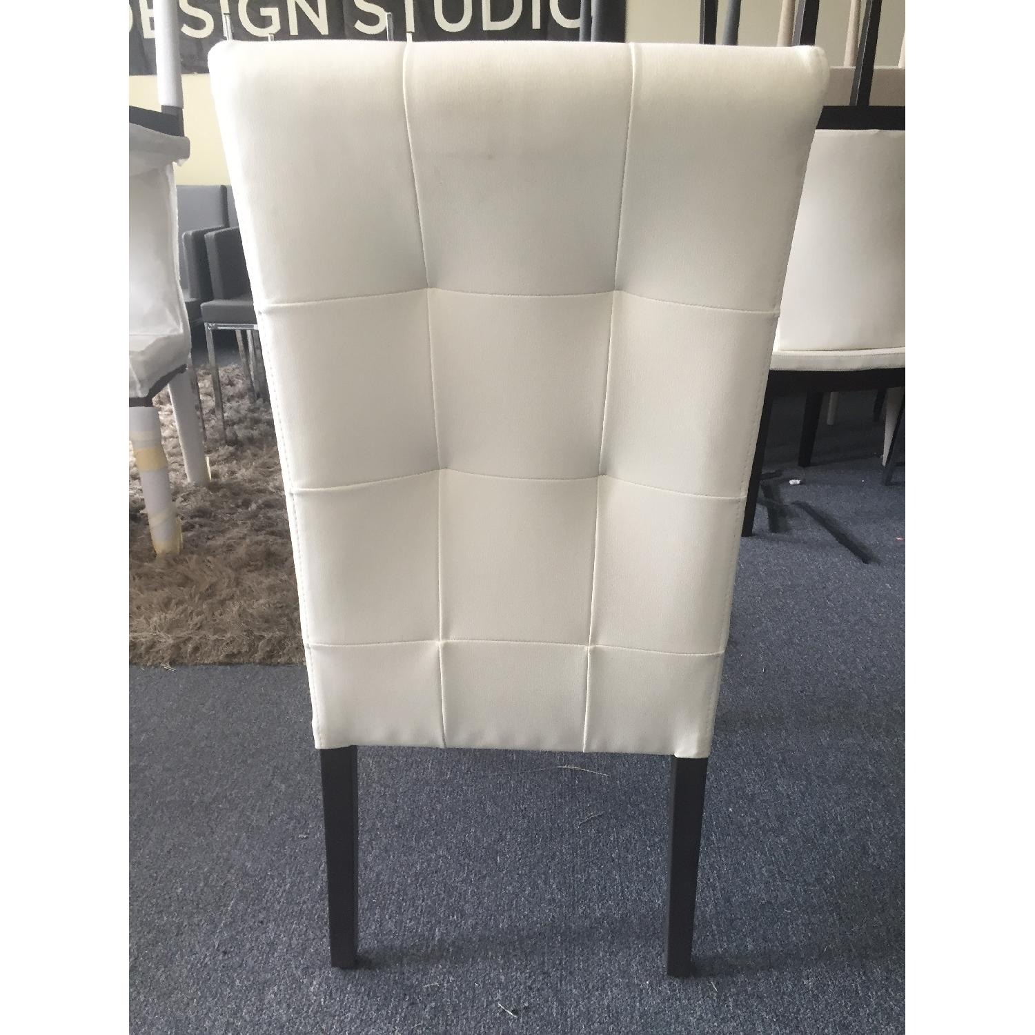 Lazzoni White Dining Chair - image-7