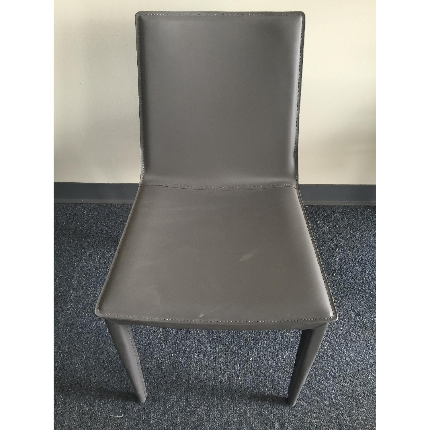 Lazzoni Grey Dining Chair - image-1