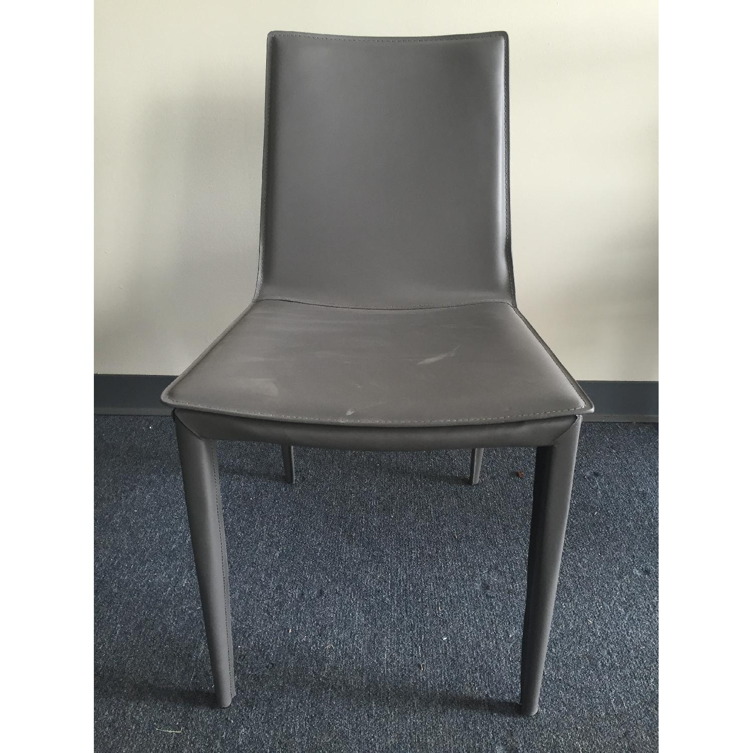 Lazzoni Grey Dining Chair - image-2