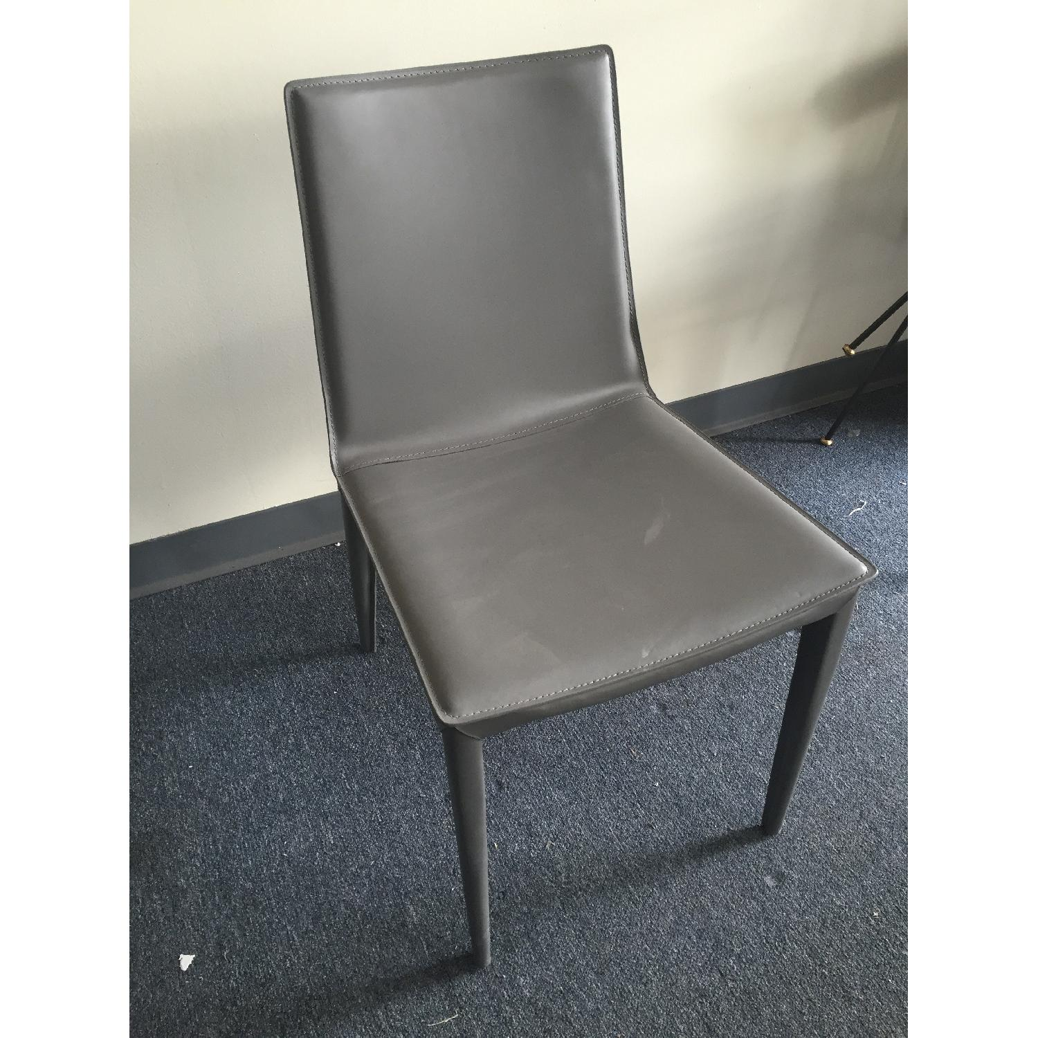 Lazzoni Grey Dining Chair - image-3