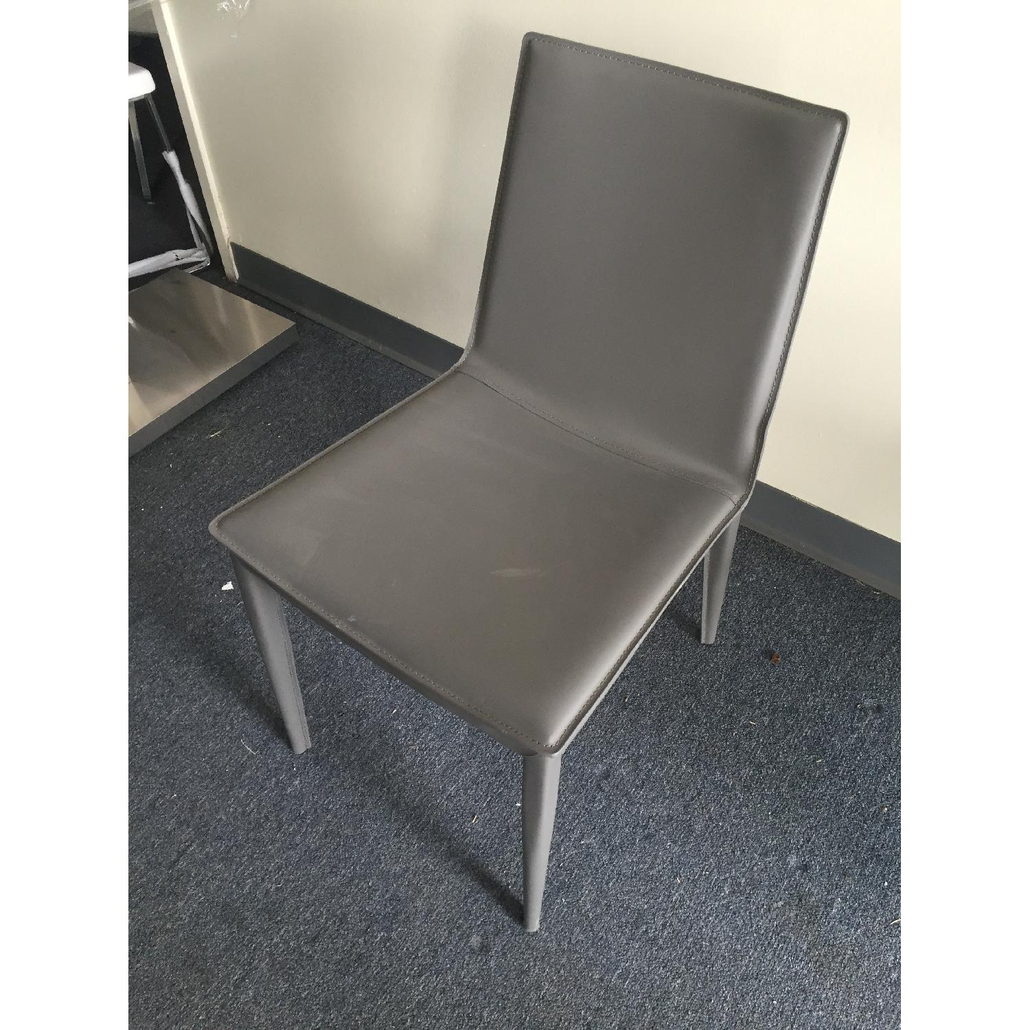 Lazzoni Grey Dining Chair - image-4