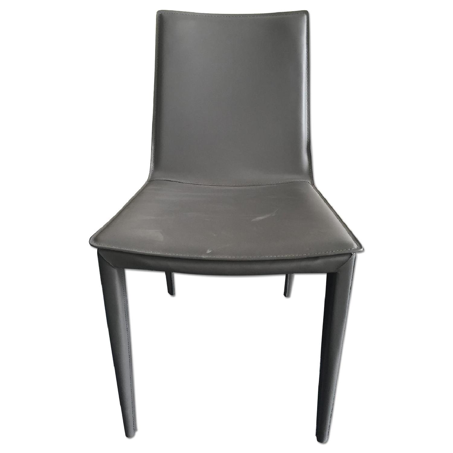 Lazzoni Grey Dining Chair - image-0
