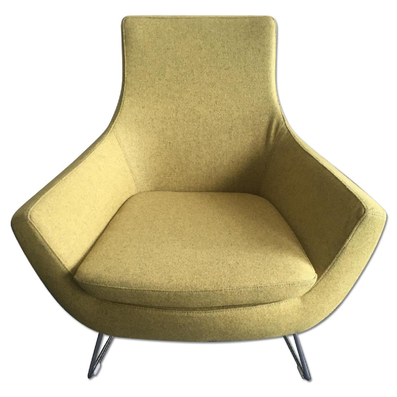 Lazzoni Yellow Chair - image-0