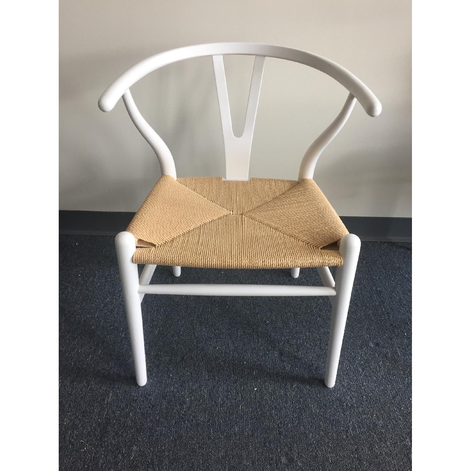 Lazzoni White Dining/Outdoor Chairs - image-2