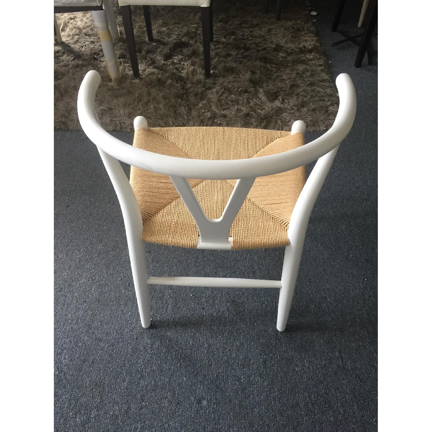 Lazzoni White Dining/Outdoor Chairs - image-6