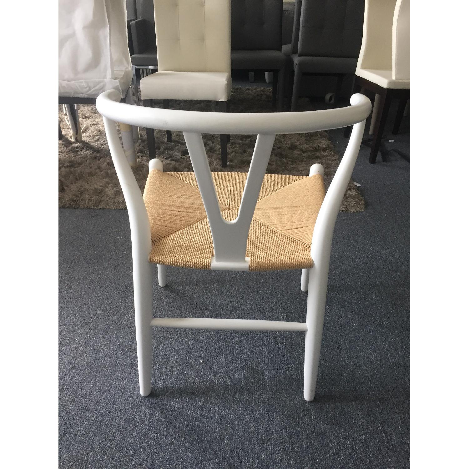 Lazzoni White Dining/Outdoor Chairs - image-7