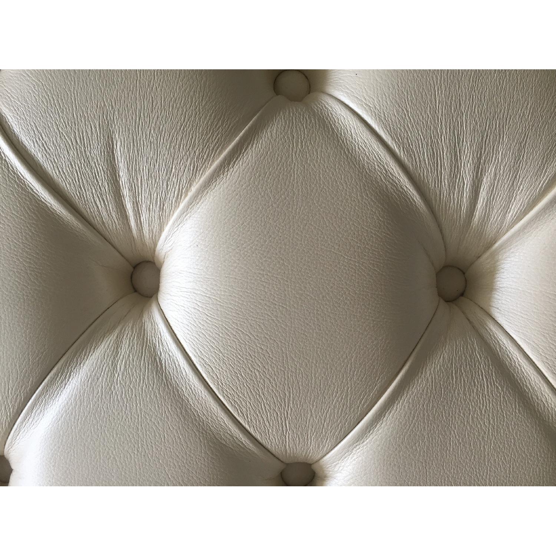 Lazzoni White Ottoman - image-5