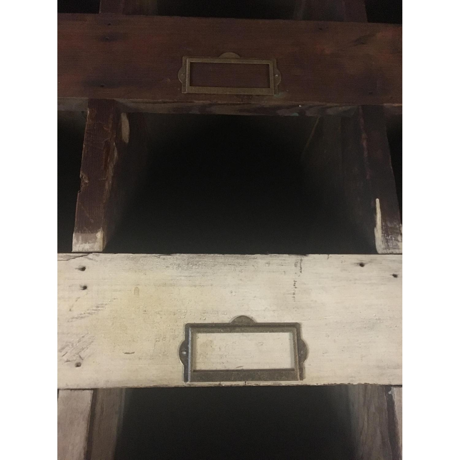 Old Hardware Cubby Mail Sorter - image-3