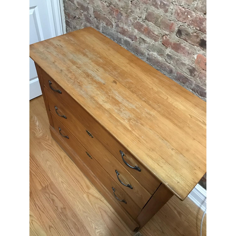 Large Wooden Dresser - image-4