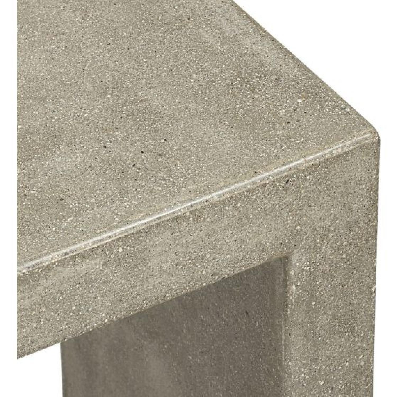 Crate & Barrel Mason Concrete Console Table - image-3