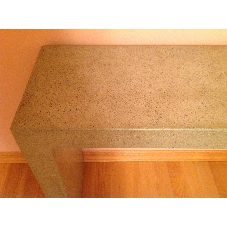Crate & Barrel Mason Concrete Console Table - image-6