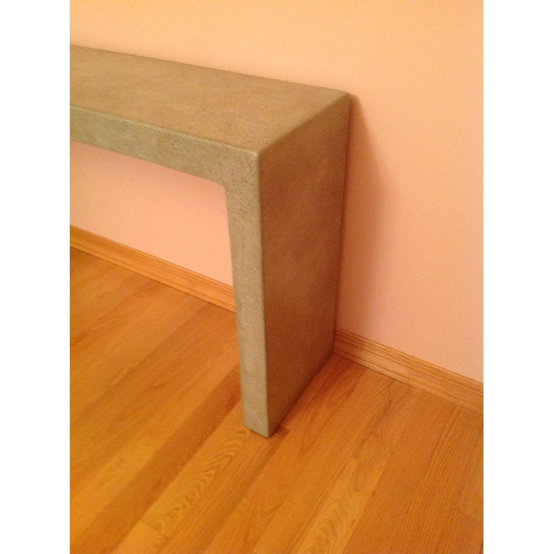 Crate & Barrel Mason Concrete Console Table - image-8