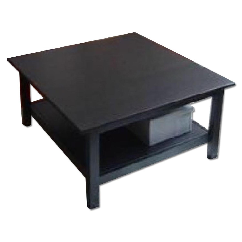 Ikea Hemnes Coffee Table In Black Brown Aptdeco