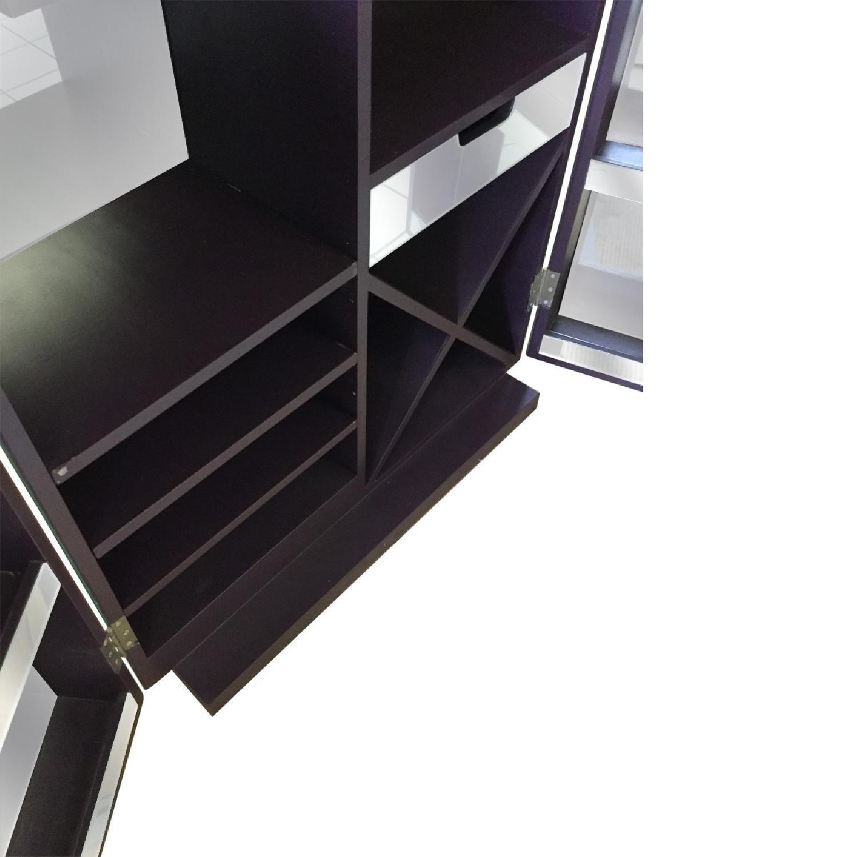Mirrored Wine Bar Cabinet - image-5