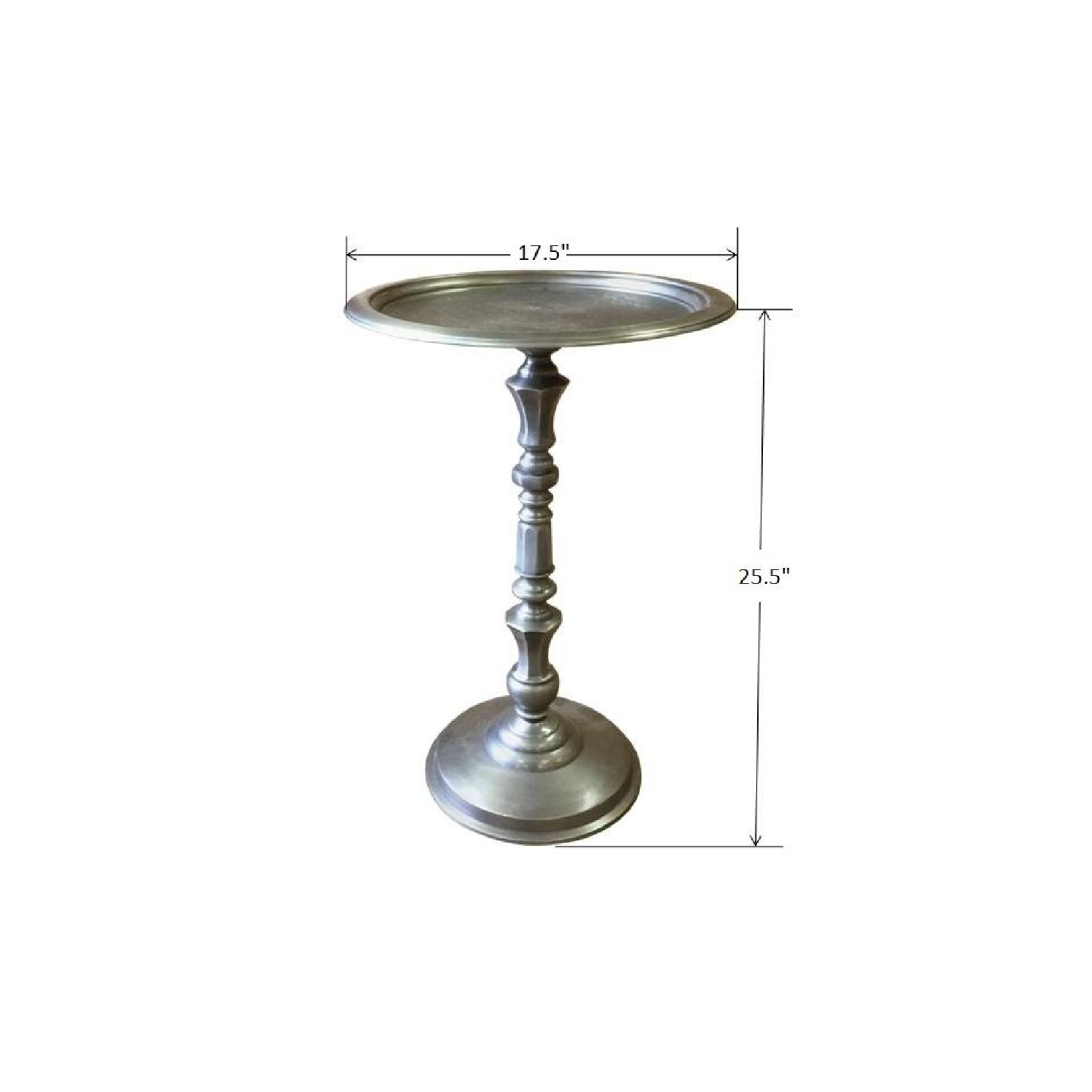 Metal Round Side End Table - image-4