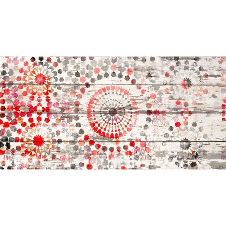 Parvez Taj Reclaimed White Barn Siding Wall Art/Print - image-0