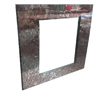 Antique Mosaic Mirror