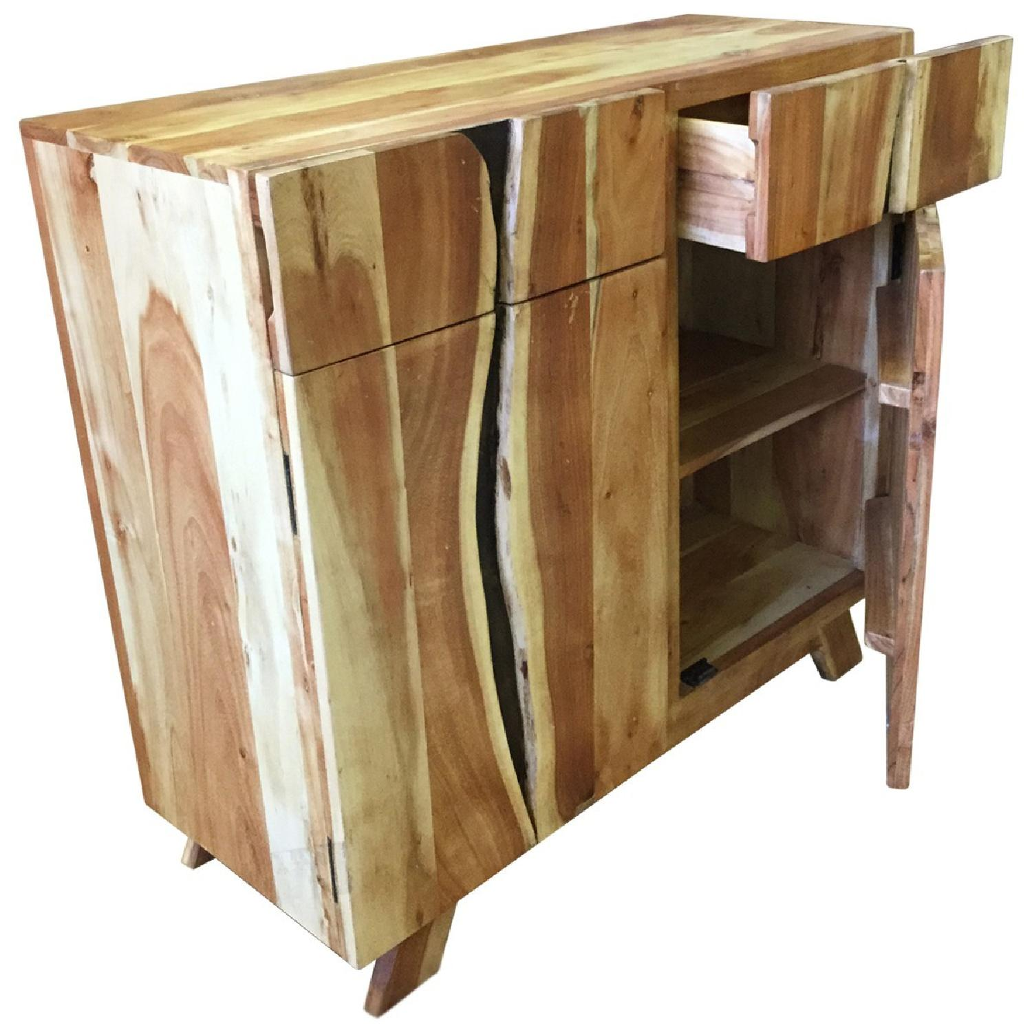 Wooden 2 Drawers Sideboard - image-1