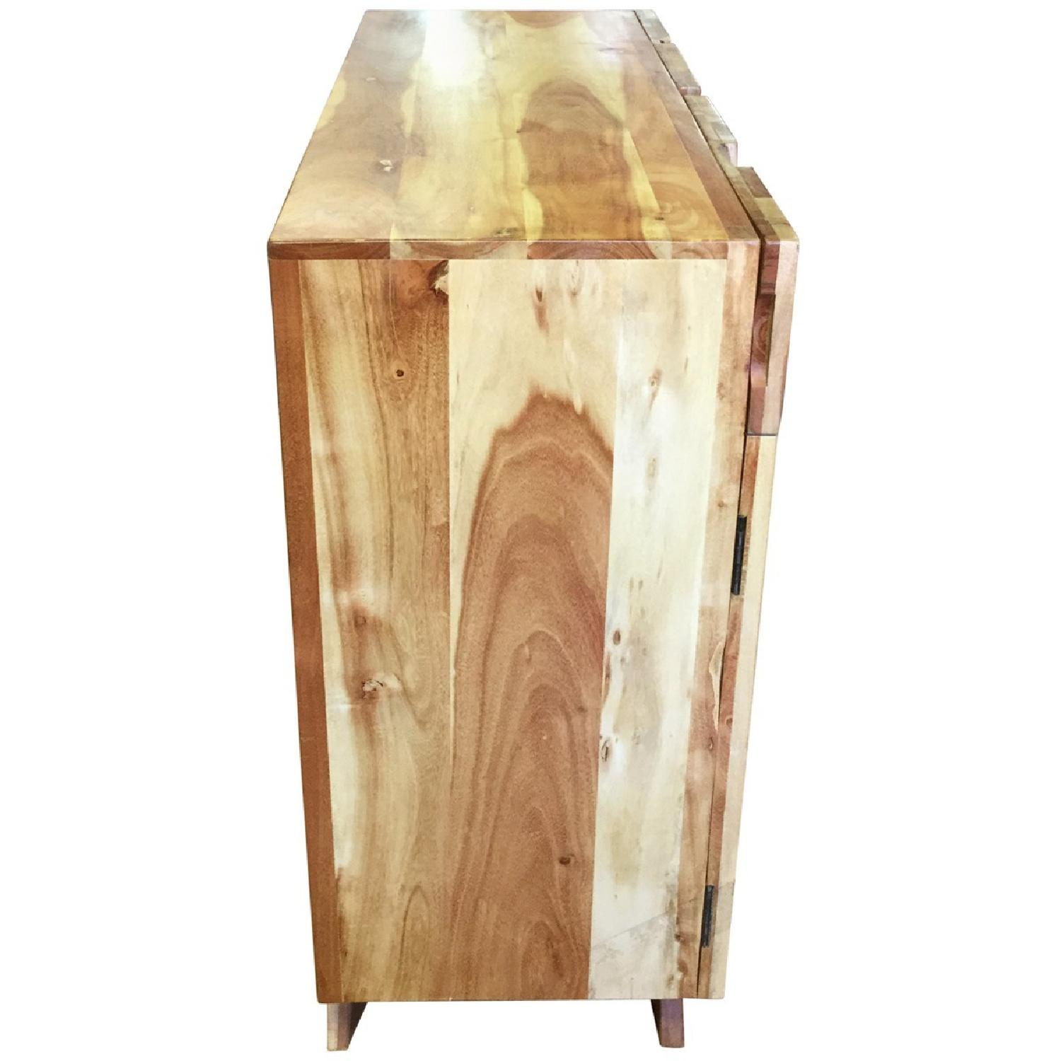 Wooden 2 Drawers Sideboard - image-3