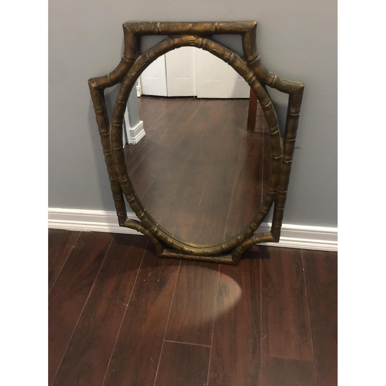 Vintage 1970's Decorative Mirror - image-1