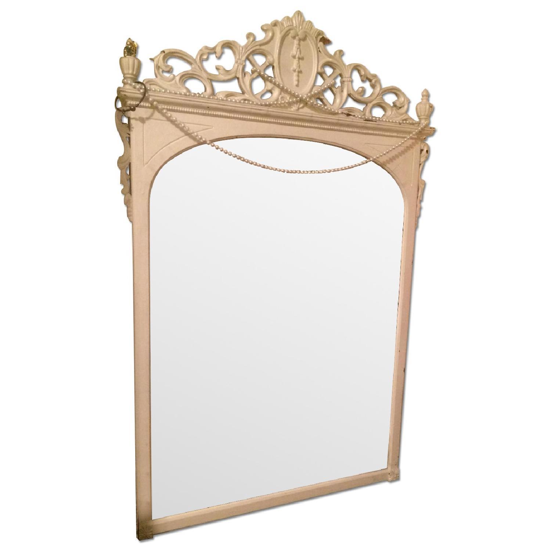Victorian Mantel Mirror - image-0