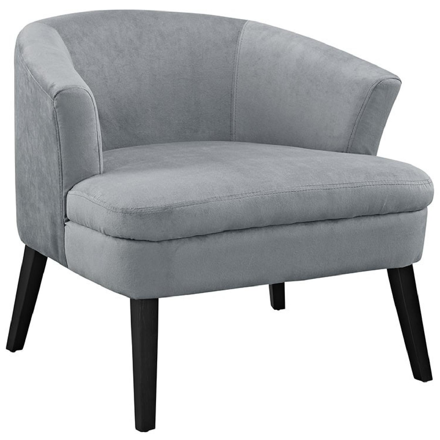 Gray Armchair - image-0