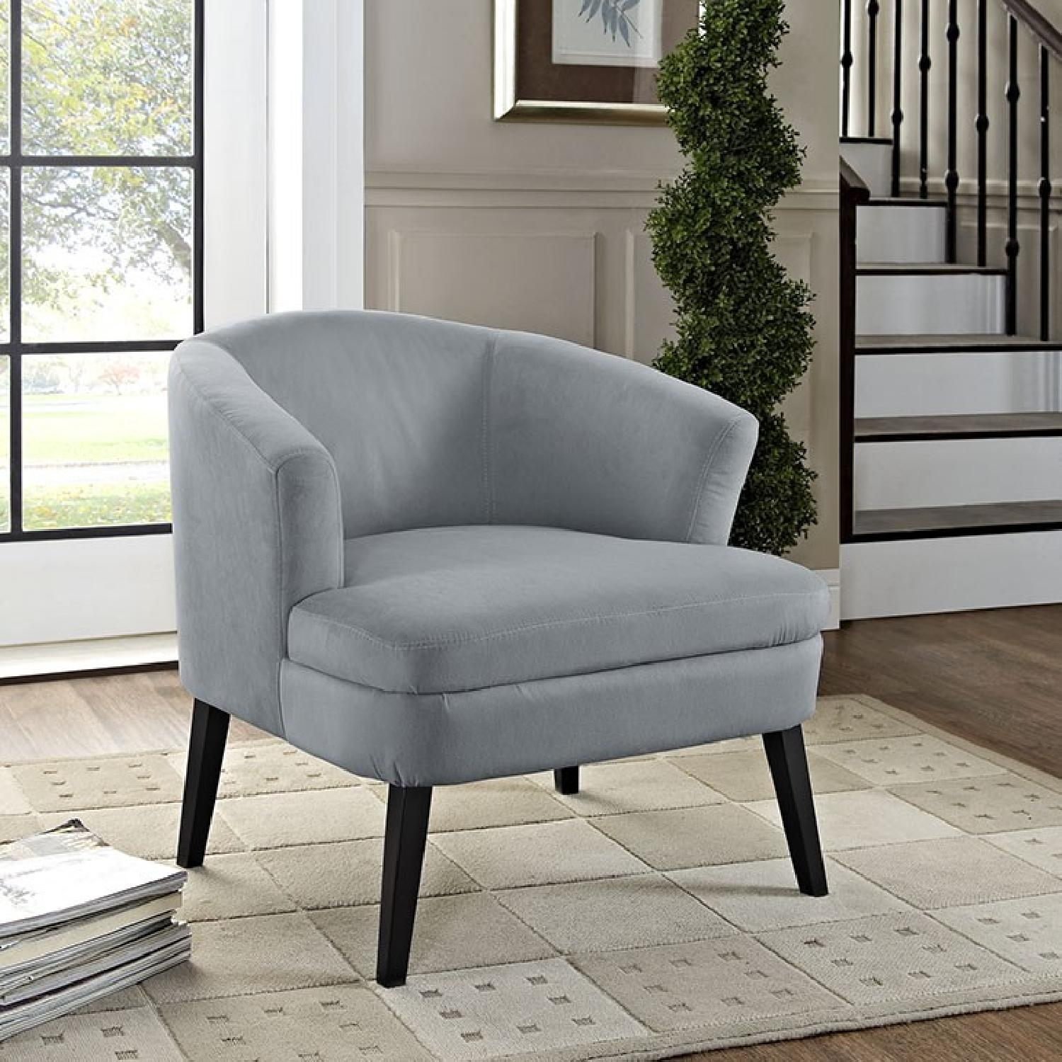 Gray Armchair - image-3