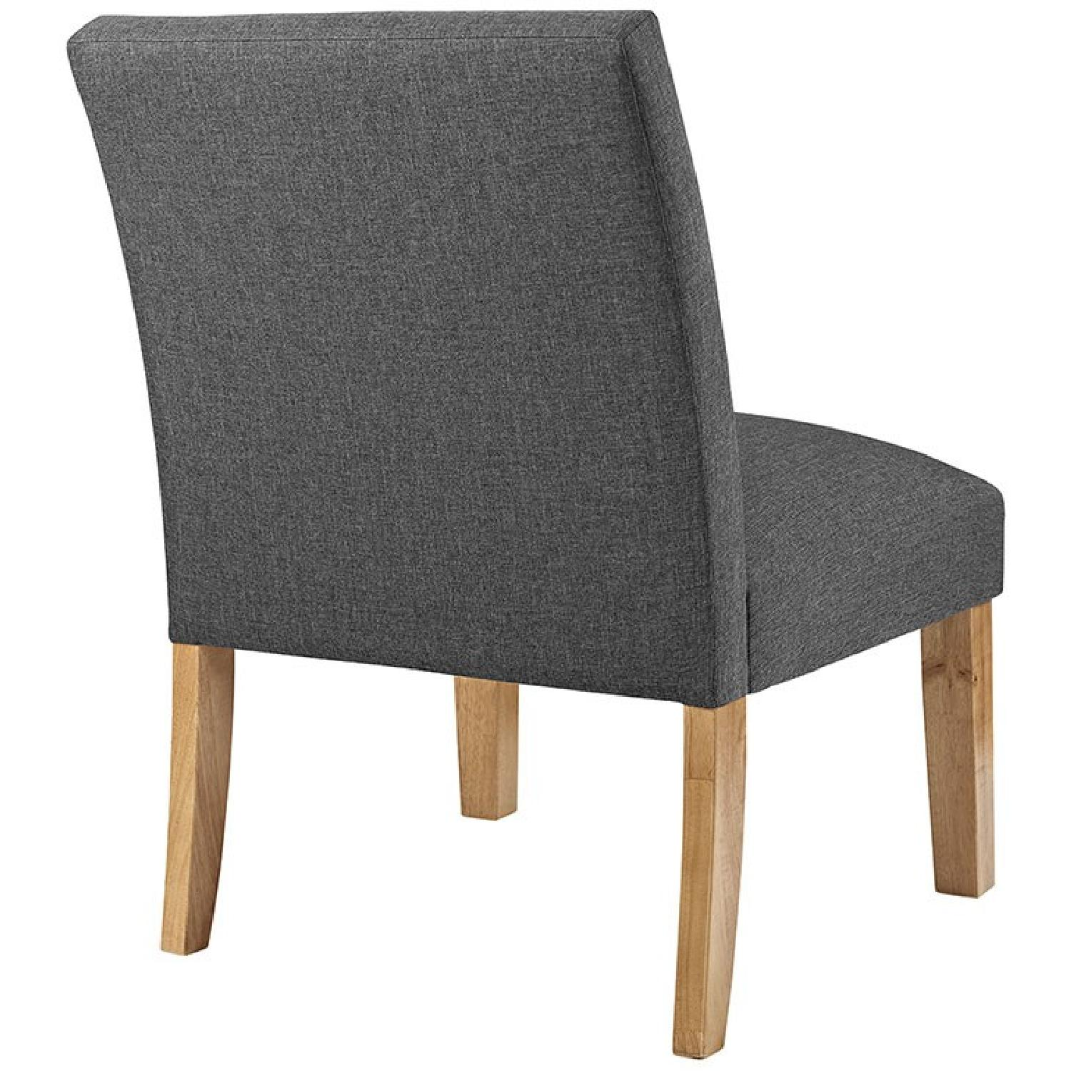 Grey Accent Chair - image-2