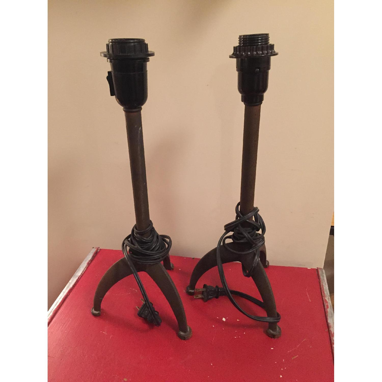Crate & Barrel Rustic Table Lamp - image-1