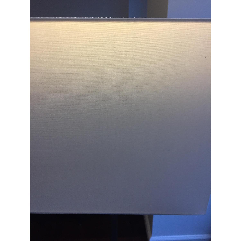 CB2 Gray & White Floor Lamp - image-2