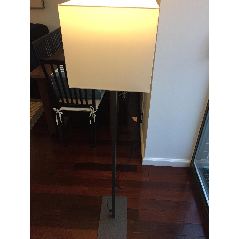 CB2 Gray & White Floor Lamp - image-3