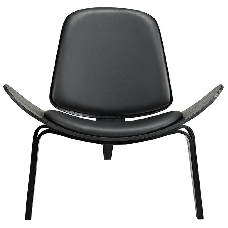 Black Lounge Chair - image-0