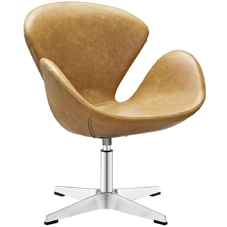 Brown Lounge Chair - image-0