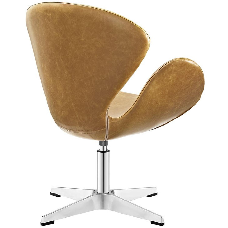 Brown Lounge Chair - image-2