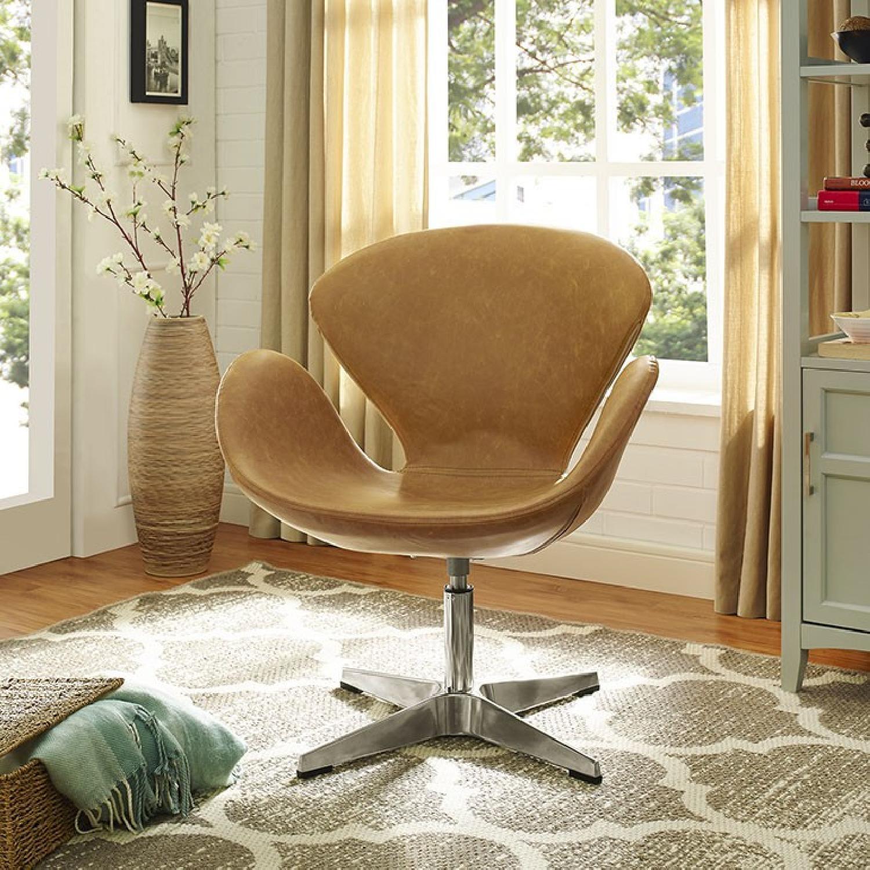 Brown Lounge Chair - image-3