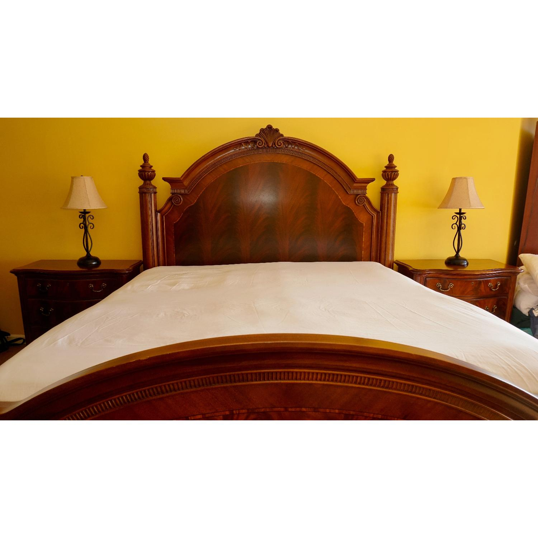 Thomasville King Bed w/ Headboard - image-1