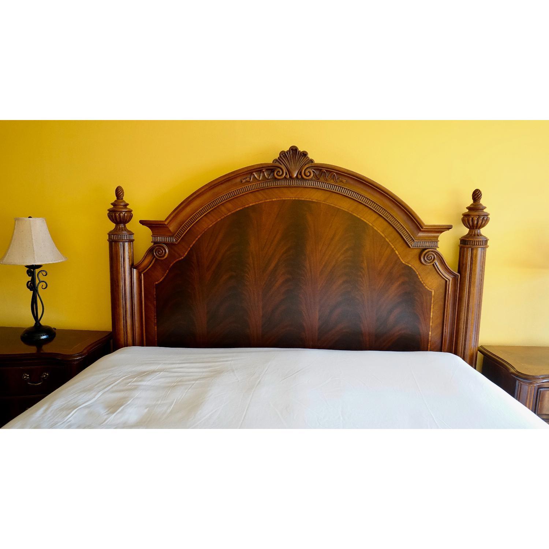 Thomasville King Bed w/ Headboard - image-3
