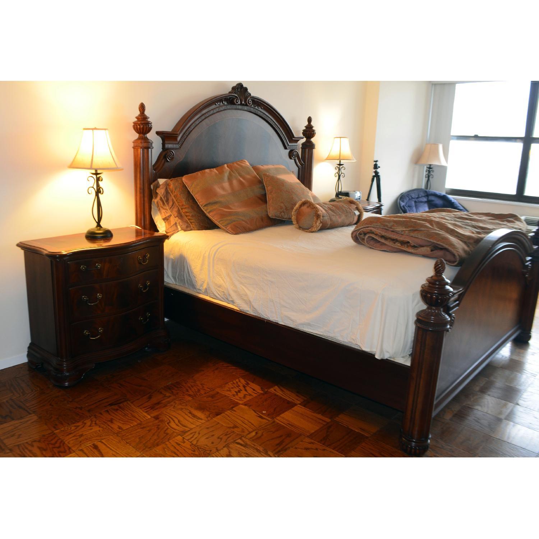 Thomasville King Bed w/ Headboard - image-4