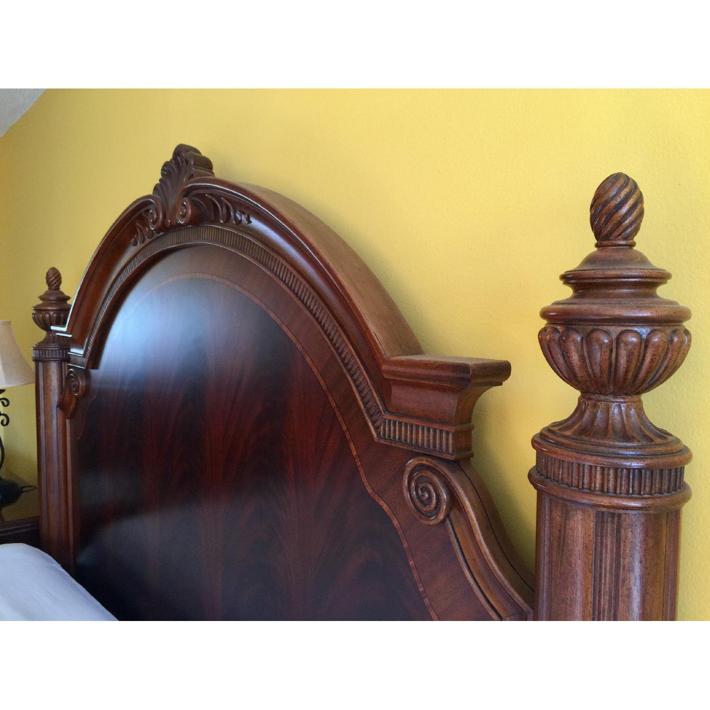Thomasville King Bed w/ Headboard - image-6