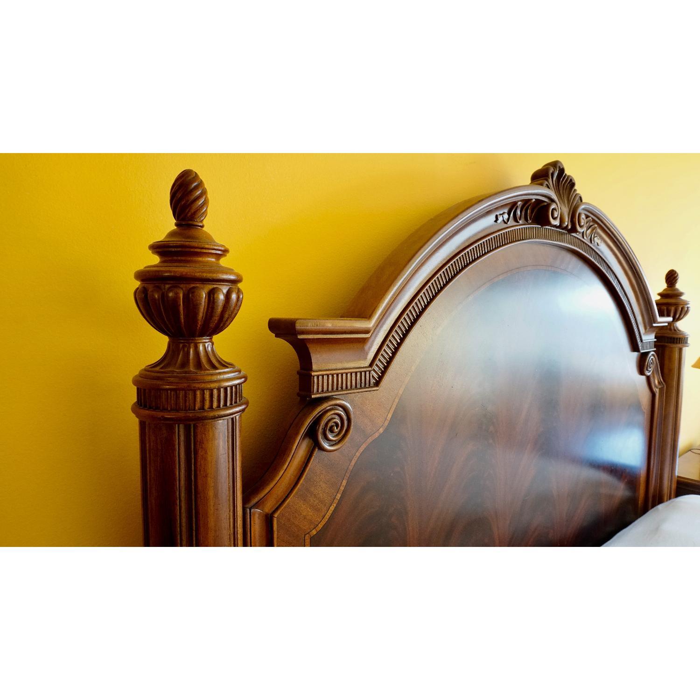 Thomasville King Bed w/ Headboard - image-7