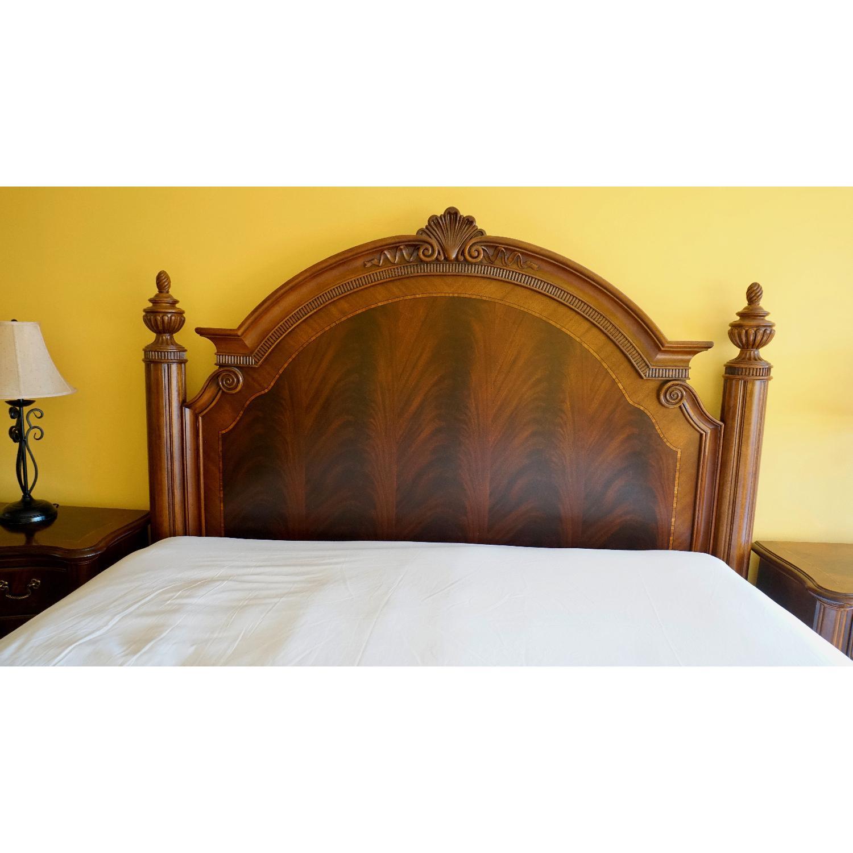 Thomasville King Bed w/ Headboard - image-8