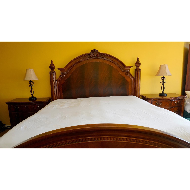 Thomasville King Bed w/ Headboard - image-10