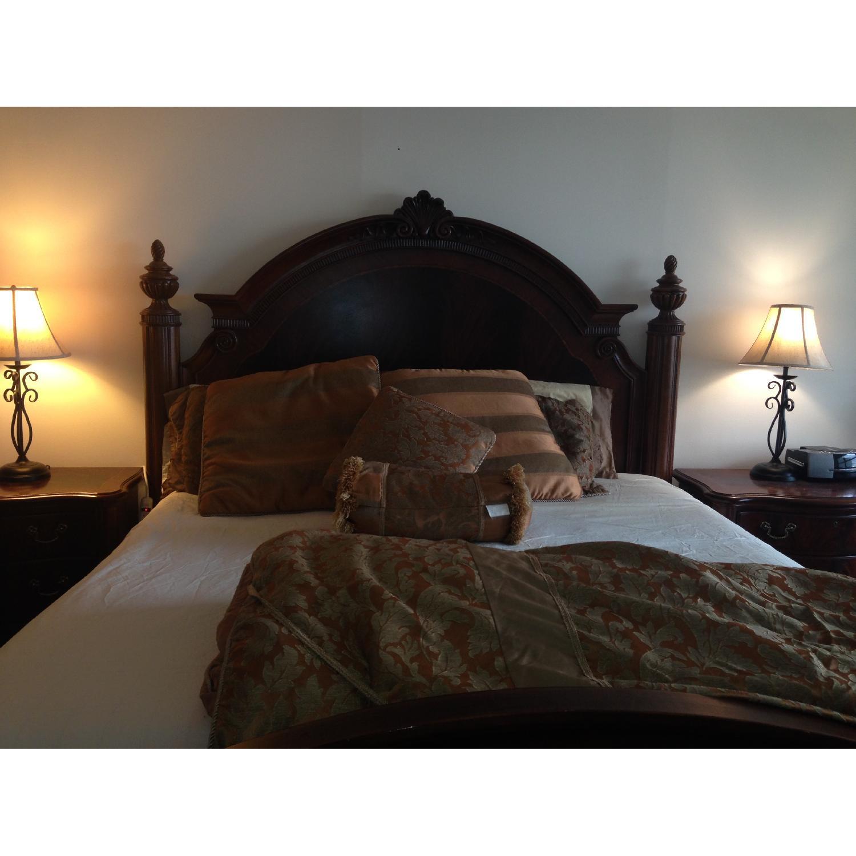 Thomasville King Bed w/ Headboard - image-11