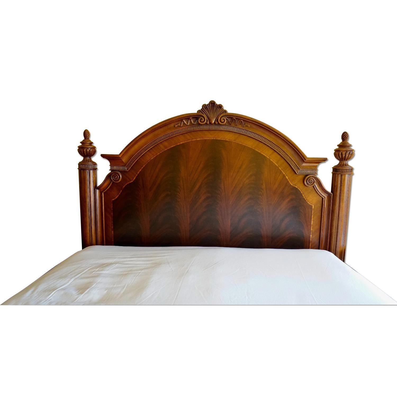Thomasville King Bed w/ Headboard - image-0