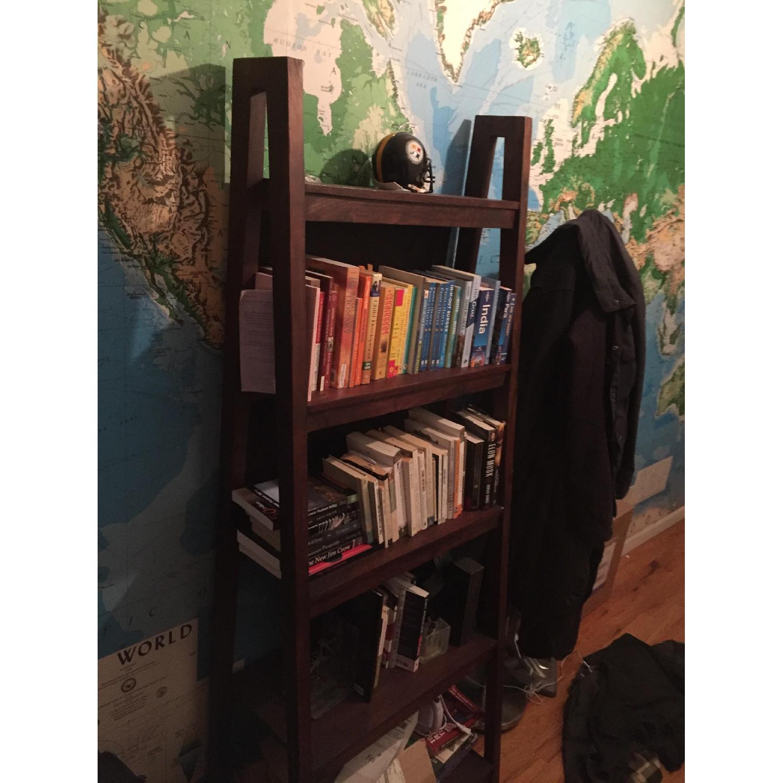 Crate & Barrel Strut Sheesham Bookcase - image-2